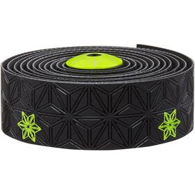Supacaz Super Sticky Kush Galaxy Handlebar Tape, neon yellow print